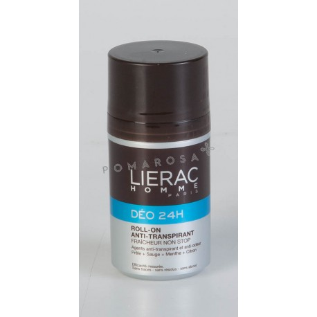 Lierac Homme Déo 24H Roll-On 50 ml