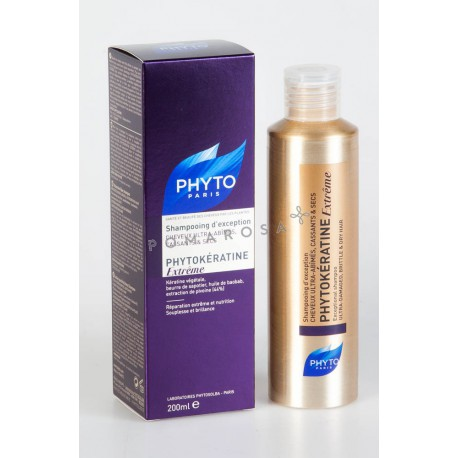 Phyto Phytokeratine Extrême Shampooing d'Exception 200 ml