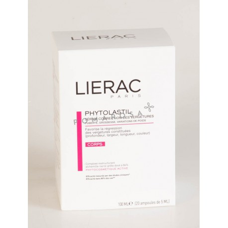 Lierac Phytolastil Ampoules 20 x 5 ml