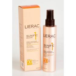 Lierac Sunific 1 Solaire Spray Lacté Irisé Activateur de Bronzage Spf 30 150 ml