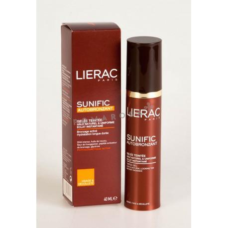 Lierac Sunific Autobronzant Gelée Teintée 40 ml