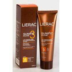 Lierac Sunific 3 Solaire Lait Fondant Irisé Activateur de Bronzage Spf6 125 ml