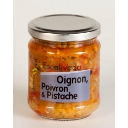 Escalivada oignon Poivron et Pistache 180 Gr