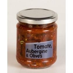 Sofregit Tomate Aubergine et Olives 185 Gr