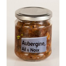 Sanfaina Aubergine Ail et Noix 180 gr