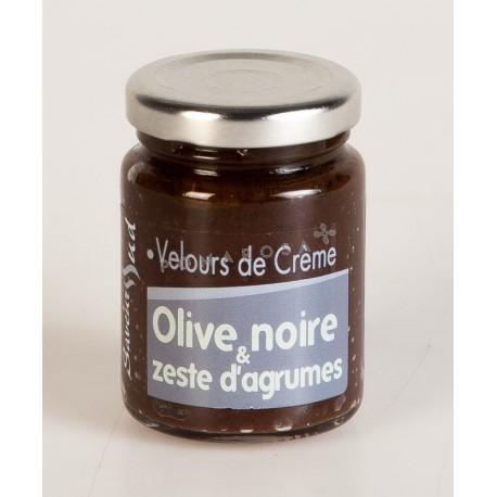 Velours de Crème Olive Noire et Zeste d'Agrumes 95 Gr