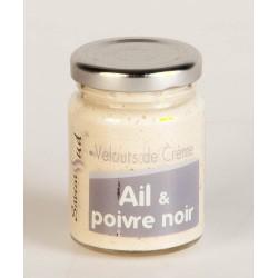 Velours de Crème Ail et Poivre Noir 95 Gr
