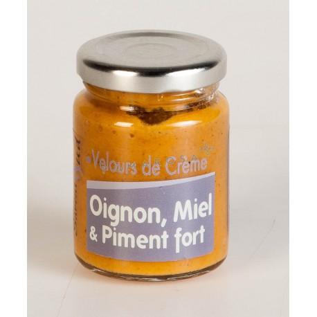 Velours de Crème Oignon Miel et Piment Fort 95 Gr