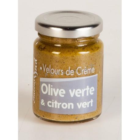 Velours de Crème Olive Verte et Citron Vert 95 Gr