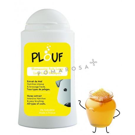 Plouf Shampooing Chien Poils Longs au Miel 200 ml