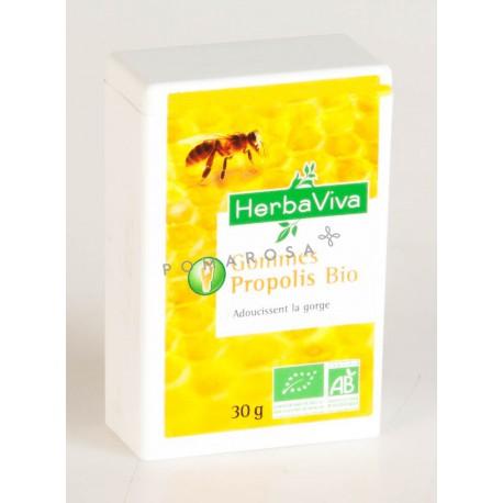 Herbaviva Gommes à la Propolis Bio 30 Gr