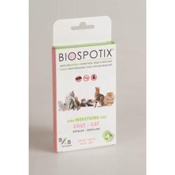 Biospotix Pipettes Anti-Puces Anti-Tiques Chat X 5