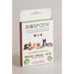 Biospotix Collier Anti-Puces Tiques et Moustiques Chien - 30 Kg