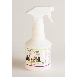 Biospotix Antiparasitaire Répulsif 100% Naturel Chien Spray 500 ml