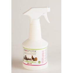Biospotix Antiparasitaire Répulsif 100% Naturel Chat Spray 500 ml