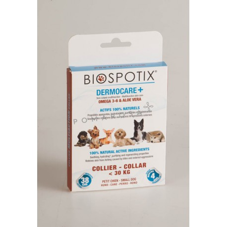 Biospotix Dermocare + Collier Chien - 30 Kg