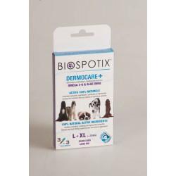 Biospotix Dermocare + 3 Pipettes Grand Chien + 20 kg