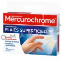 Mercurochrome Pansements Plaies Superficielles X 11