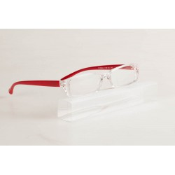DaVicino Lunette Loupe Jolly 2 Transparent Rouge