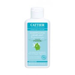 Cattier Shampooing Enfant Démêlant Parfum Pomme 200 ml
