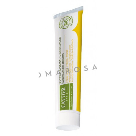 Cattier Dentargile Citron 75 ml