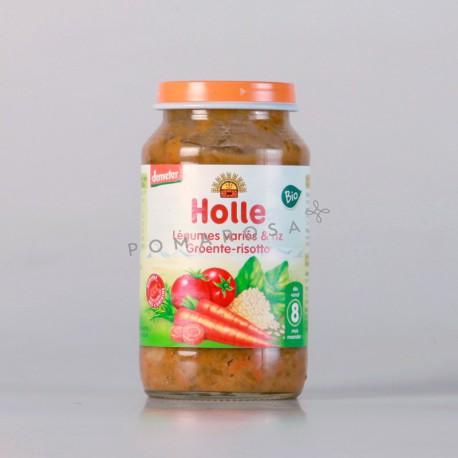 Holle Petit Pot Légumes Variés & Riz 220 gr