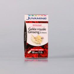 Juvamine Gelée Royale Ginseng 30 Gélules Végétales