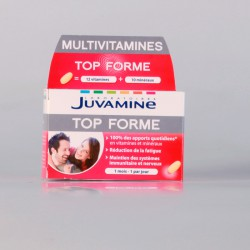 Juvamine Multivitamines Top Forme 30 Comprimés