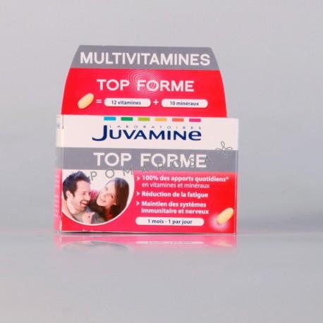 Juvamine Multivitamines Top Forme 30 Comprimés