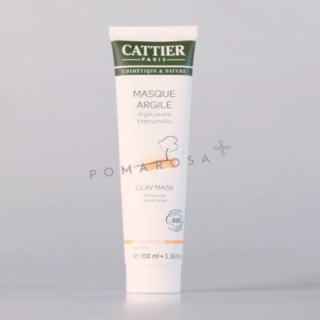 Cattier Masque Argile Jaune Hamamélis 100 ml
