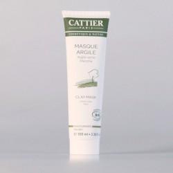 Cattier Masque à l'Argile Verte Menthe Poivrée 100 ml