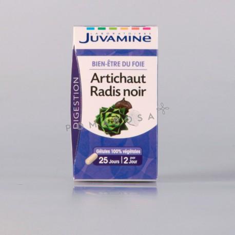Juvamine Artichaut Radis Noir 50 Gélules