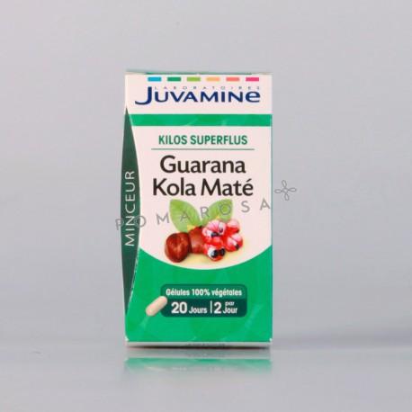 Juvamine Guarana Kola Maté 40 Gélules