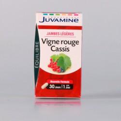 Juvamine Vigne Rouge Cassis 30 Gélules