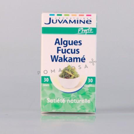 Juvamine Algues Fucus Wakamé 30 Comprimés