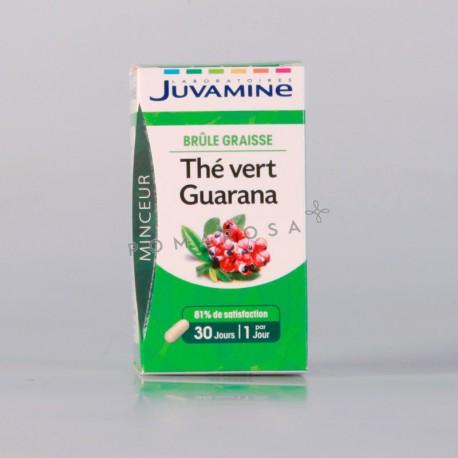 Juvamine Thé Vert Guarana 30 Gélules