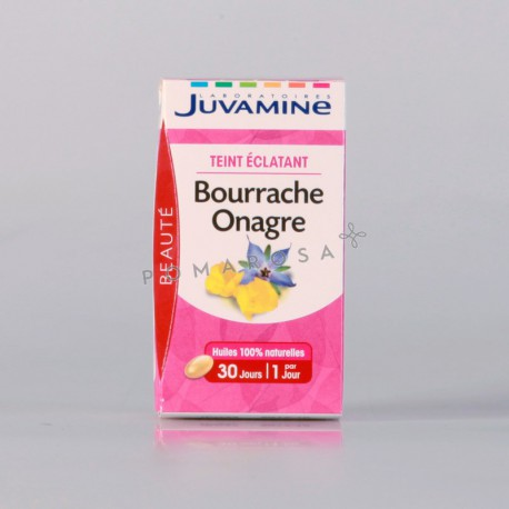 Juvamine Bourrache Onagre 30 Capsules