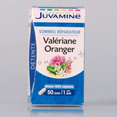 Juvamine Valériane Oranger 50 Gélules