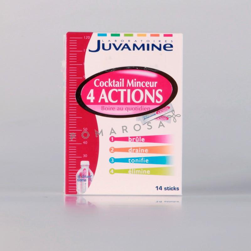 Juvamine Cocktail Minceur 4 Actions 14 Sticks