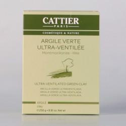 Cattier Argile Verte Ultra-Ventilée 250 gr