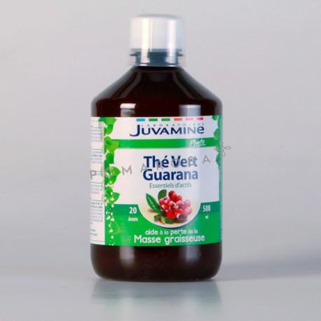 Juvamine Thé Vert Guarana 500 ml