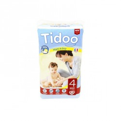 Tidoo Couches Jetables Écologiques Night & Day 4 Maxi 7 - 18 Kg
