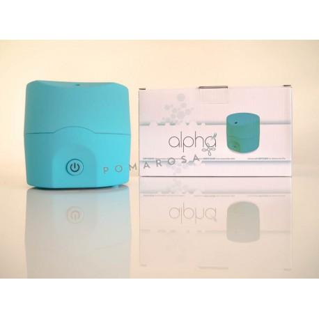 Alpha Pranarom Diffuseur Ultrasonique Bleu turquoise