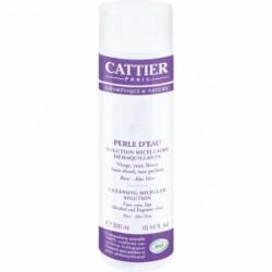 Cattier solution micellaire démaquillante Perle d'eau Visage Yeux Lèvres