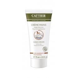 Cattier crème mains ultra nourrissante à l'argile blanche 75 ml