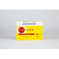 Juvamine Cuivre Système immunitaire 20 ampoules 5ml