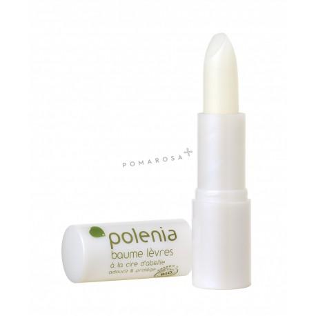 Polenia Baume Lèvres à la Cire d'Abeille 2,5 Gr
