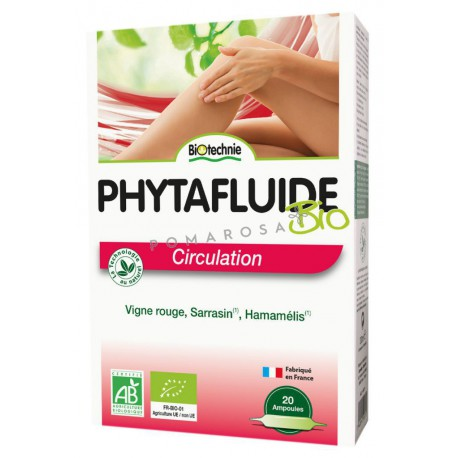 Biotechnie Phytafluide Circulation 20 Ampoules