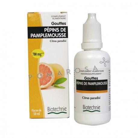 Biotechnie Extrait Fluide Pépins de pamplemousse 700 mg