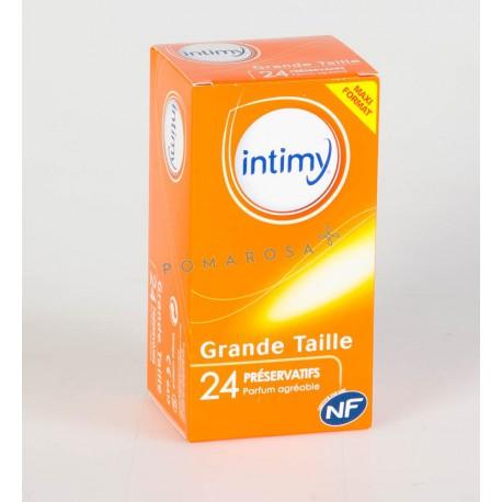 Intimy 24 Préservatifs Grande Taille